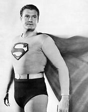 GEORGE REEVES SUPERMAN 8X10 GLOSSY PHOTO PICTURE