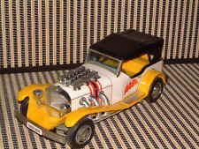 Bandai Tin & Plastic Very Rare Excalibur Car W/Auto Reverse! Fully Working! Nice