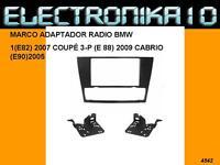 MARCO SOPORTE AUTO RADIO BMW E82 COUPE E88 CABRIO E90 2005>