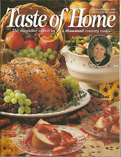 Taste of Home October November 2000 Pinapple/Game/Country-Fried Steak/Walnuts