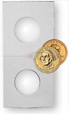 (50) Small Dollar Coin BCW Paper Flips Coin Flip Holder Storage 2x2