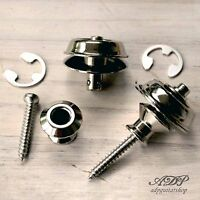 Attache Courroie Strap Lock Dunlop Security  2x Nickel  AP 6581-001