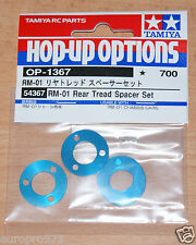 TAMIYA 54367 RM-01 Arrière De Roulement Spacer Set (RM01/RM-01X/RM01X), Neuf sous emballage