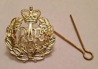 RAF Beret Badge, Brass, Army, Military, Hat, Royal Air Force, Cap, R.A.F, Metal