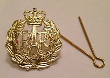 RAF Beret Badge Brass Army Military Hat Royal Air Force Cap R a F Metal