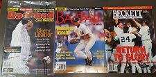 SEALED DEREK JETER BECKETT BASEBALL MONTHLY COVER JAN 2002! BONUSES! FREE SHIP!