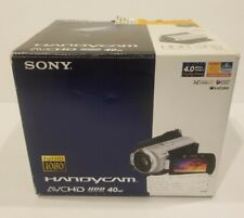 Sony Handycam HDR-SR5 4MP 40GB Hard Drive Camcorder FULL HD 1080 HDD w Station