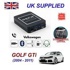Para VW Golf GTI streaming de música cargador de teléfono Bluetooth módulo SD AUX CD 12