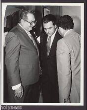 VINTAGE PRESS PHOTO / GOV. RAFAEL HERNANDEZ COLON / PUERTO RICO / 1980's / #8