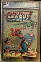 Justice League of America #25 PGX Grade 8.5