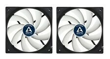 2 Pack Arctic F12 PWM 4-pin High Performance 120mm PC Case Cooling Fan 6Yr Wrnty