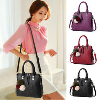 Fashion Women's Handbag Purses PU Leather Geometric pattern Tote Shoulder Bag
