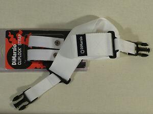 DiMarzio DD2200 Cliplock Nylon Quick Release Straps VARIOUS COLOURS