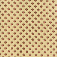 Moda Fabric Oak Grove Lane Little Acorns Ivory - Per 1/4 Metre