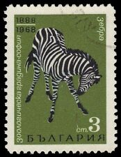 "BULGARIA 1691 (Mi1821) - Sofia Zoo ""Mountain Zebra"" (pf56236)"