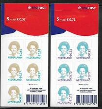 Niederlande, 2 Folienblätter , König Beatrix, Mi 2189/2190, postfrisch, MHE-136