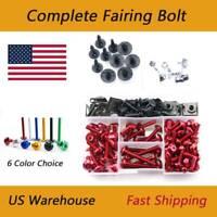 Complete Fairing Bolts Kit Bodywork Fasteners For Suzuki GSX-R 1000 K5 05-06