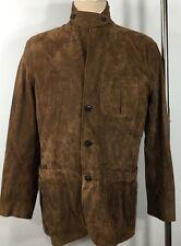 Polo Ralph Lauren Leather Jacket Coat Mens 38R Regular Brown MSRP $1295