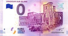 87 ORADOUR/GLANE Souviens-toi 3, N° de la 6è liasse, 2018, Billet 0 € Souvenir