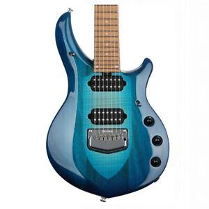Ernie Ball Music Man BFR Majesty 7 Electric Guitar  - Bali Blue Burst 1 of 95 ma