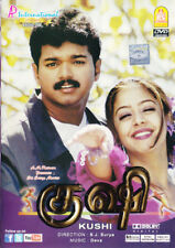 Kushi Tamil DVD With English Subtitles - Vijay, Jyothika Romantic Indian Film
