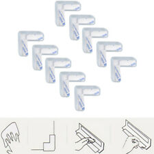 Child Protector Corner Guards ~ Desk, Table, Edge Baby Cushions (10 Pack, Clear)