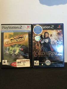 Juiced + The Lord Of The Rings Pack PS2