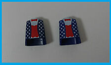 2 X Playmobil torse USA/Special/KG/Accessoires/collection/liasse