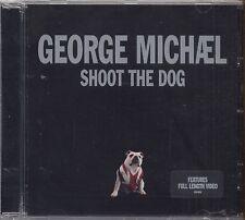 GEORGE MICHAEL - Shoot the dog - CD SINGLE 4 TRACKS SIGILLATO SEALED