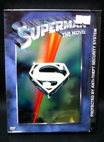 NEW Superman The Movie (DVD, 1978) Christopher Reeve Margot Kidder AUTHENTIC USA