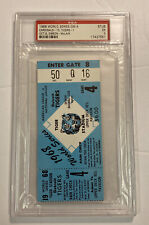Vintage 1968 World Series G4 Ticket Stub Detroit Tigers/St Louis Cardinals PSA5