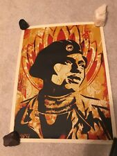 BLACK PANTHER, Shepard Fairey, 2004, *SIGNED PRINT*  (Artist's Proof)