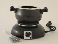 Fondue Set Deski elektrisch für 6 Personen mit Gabeln 1,8 Liter, Fleisch & Käse