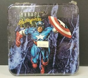 1992 Marvel Masterpieces Series 1 Tin Skybox 27687/35000 Factory Sealed Vintage