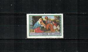 COOK ISLANDS Scott's 1045 ( 1v ) Holy Family by Titan F/VF Used ( 1990 )