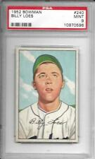 1952	Bowman	Billy	Loes	240	PSA 9		Dodgers		670