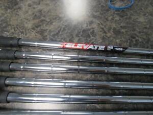True Temper Elevate 95 Stiff Flex Shafts (Pull Outs) .370 Tip Size 10 Total