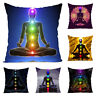 EG_ Cool Yoga Chakra Cushion Cover Throw Pillow Case for Home Sofa Car Decor Gif