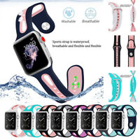 Replacement Soft Silicone Strap Sports Band For Apple Watch iWatch 4/3/2/1 40/44