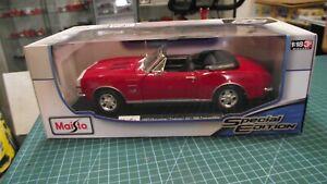 1:18 1967 Chevrolet Camaro ss 396 convertible