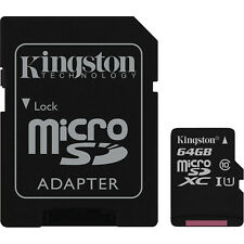 US Seller Canvas Select Kingston Memory 64GB 64 G Micro SD SDXC MicroSD Class 10