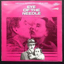 Miklos Rozsa EYE OF THE NEEDLE soundtrack LP 81 Donald Sutherland Kate Nelligan