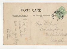 Miss A Terry Rochester House Hadfield Road Margate 1907  302a
