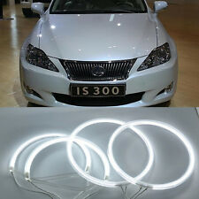 CCFL Headlight Angel Eye Halo Ring Kit White For Toyota All Altezza
