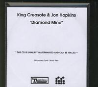 KING CREOSOTE & JON HOPKINS Diamond Mine PROMO ACETATE CD ALBUM DOMINO *