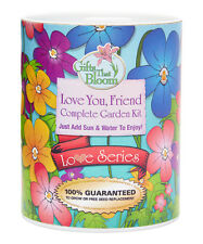 New listing Gifts That Bloom, Love You Friend Great Gift GroCan Blooms - Garden Grow Can