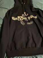 Walt Disney World Disneyland Resort Hoodie Mickey Print Size Large