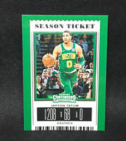 2019 Contenders Draft Picks Season Ticket Variation Jayson Tatum Celtics #20
