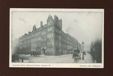 LONDON Welbeck St Clifton Hotel Advert c1900/10s? PPC
