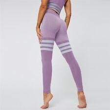 High Waist Leggings Yoga Trousers Gym Jogging Pants Sports Stretch Fitness Women